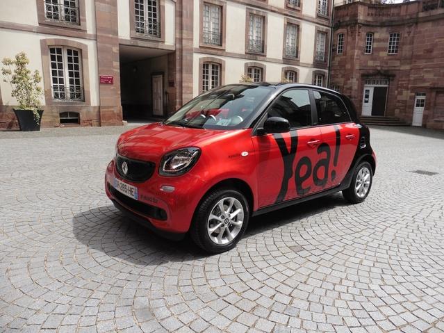 Yea!, la voiture en libre-service et sans contraintes, arrive à Toulouse