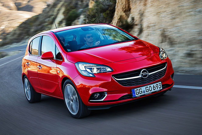 Salon de Paris 2014 - Opel Corsa: introvertie