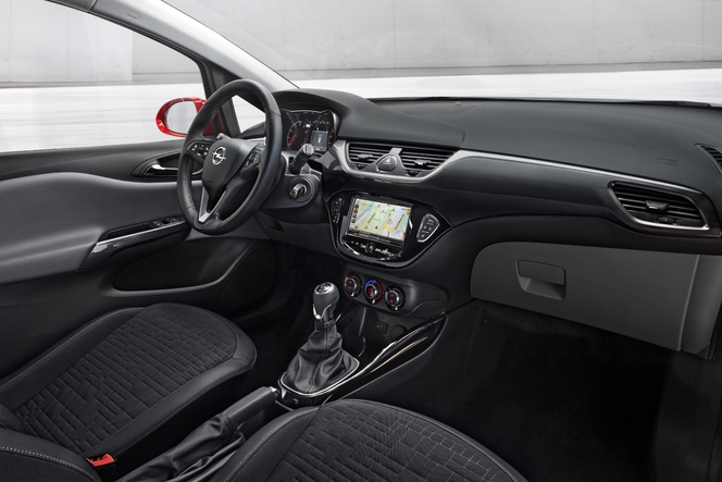 Salon de Paris 2014 - Opel Corsa: introvertie