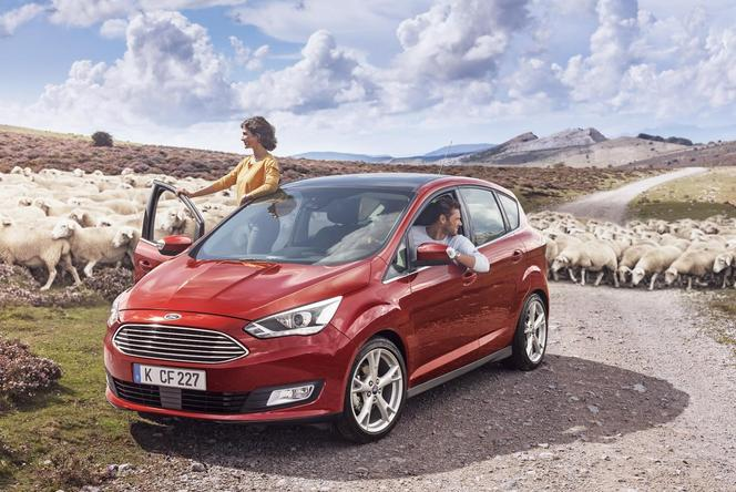 Mondial 2014 : Ford restyle le C-Max