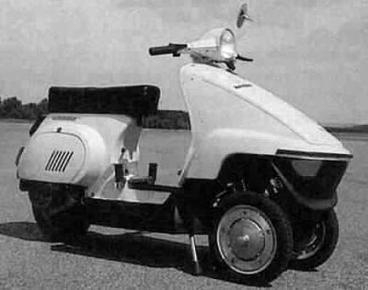 Tripode: Motoblog a trouvé la matrice de Piaggio !