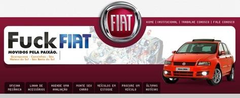 Fuck Fiat ... avec passion