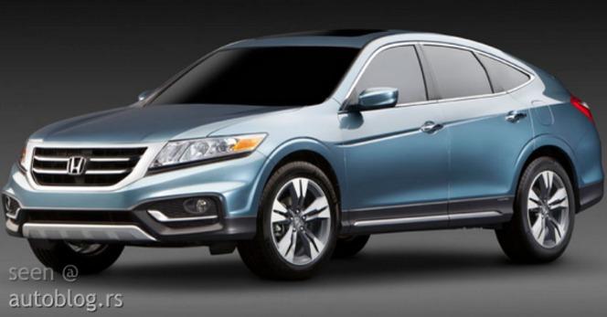 New York 2012 : Honda Crosstour restylé en fuite
