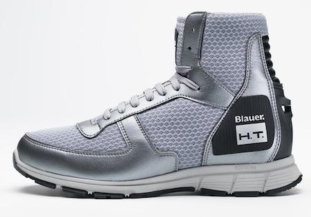 Blauer Sneakers: des pieds aérés et sécurisés