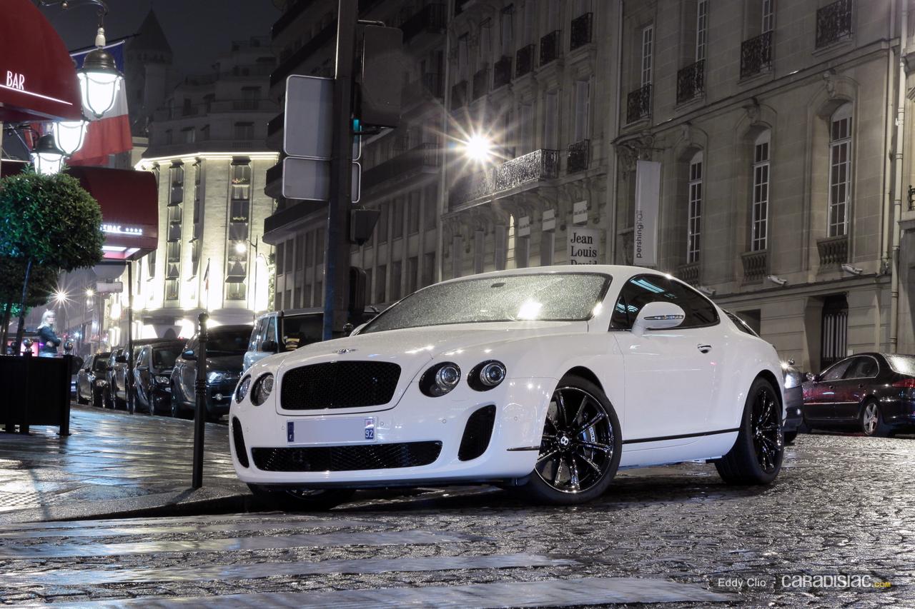 Paris Bentley Continental Gt Supersports Teamspeed Com