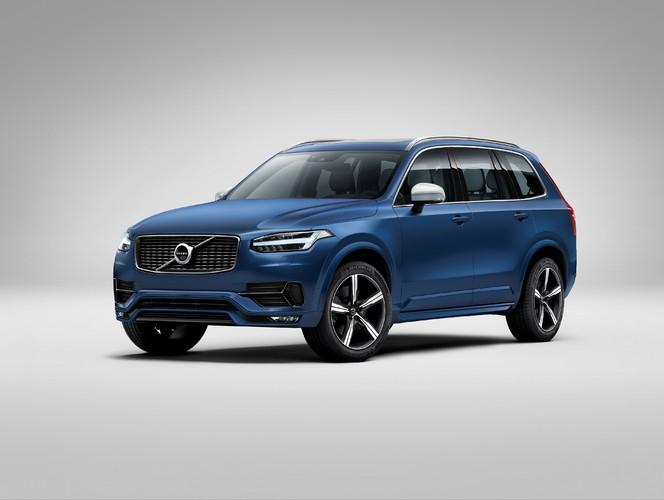 Mondial 2014 : le Volvo XC90 en R-Design