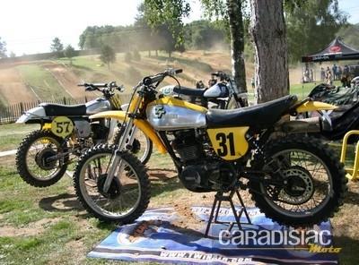 Championnat de France de Motocross en Anciennes: l'épreuve de Cussac.