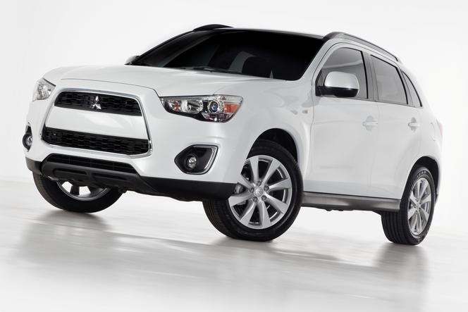 Salon de New York 2012 : Mitsubishi dévoile la version restylée de son ASX