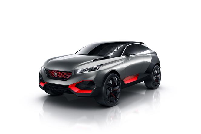 Mondial 2014 : Peugeot Quartz Concept, en hybride et avec 500 ch
