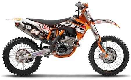 KTM: 250 et 350 SX-F Edition Factory bientôt en concession