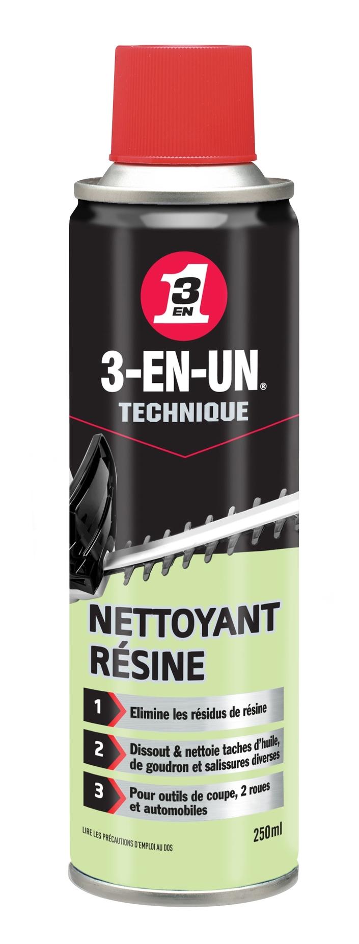 Nettoyant Résine 3-en-Un: nettoyage de printemps