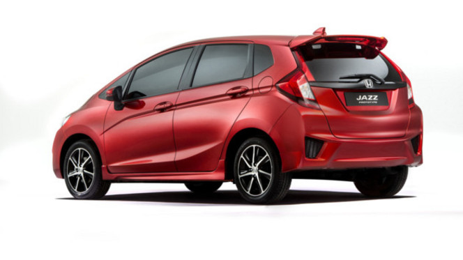 Salon de Paris 2014 - Honda Jazz: prototype