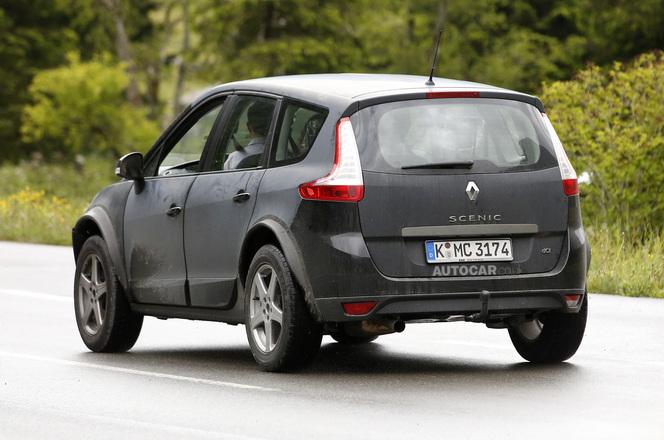 Surprise : un mulet du futur Renault Espace est de sortie