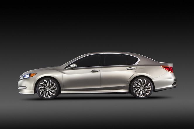New York 2012 : Acura RLX Concept, avec des bouts de future NSX dedans