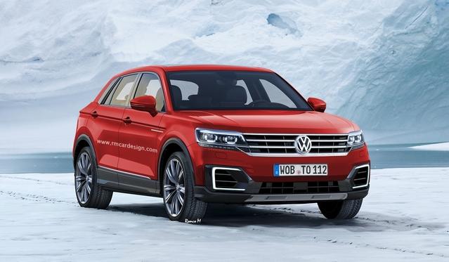 Futur crossover compact Volkswagen : comme ça ?