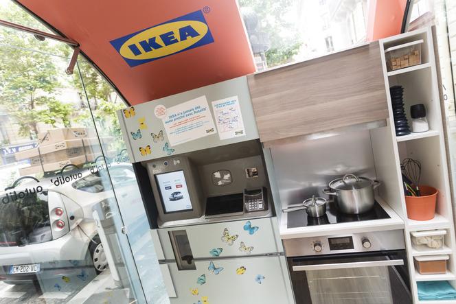 Des bornes Autolib' chez IKEA...