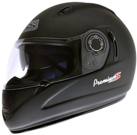 Nouveauté 2011: casque intégral NZI Premium Sunvisor.