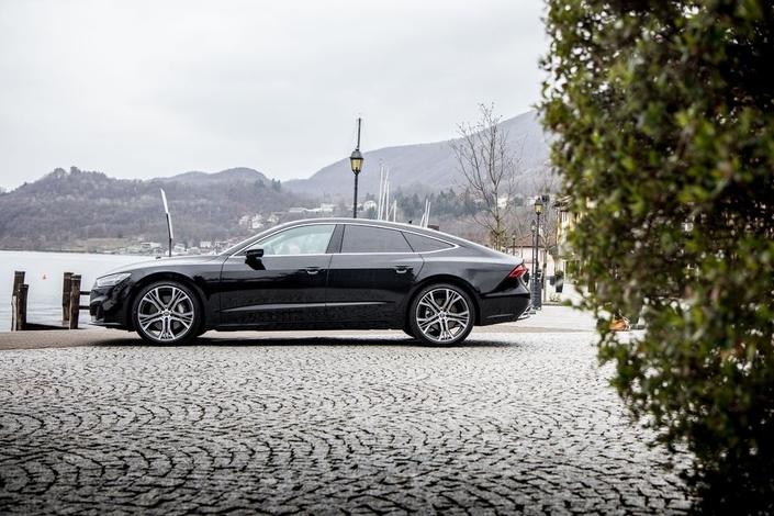 L'Audi A7 arrive en concession:il n'y a pas que les SUV dans la vie