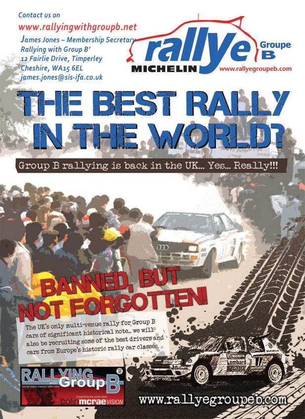 Rallye - Les Groupe B de retour!