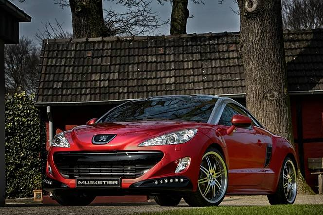 Peugeot RCZ par Musketier