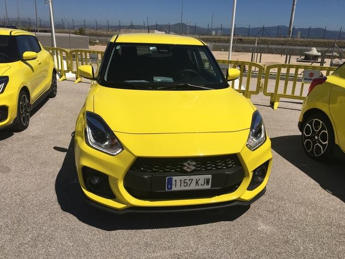 Suzuki Swift Sport : les premières images de l'essai en Live + impressions de conduite