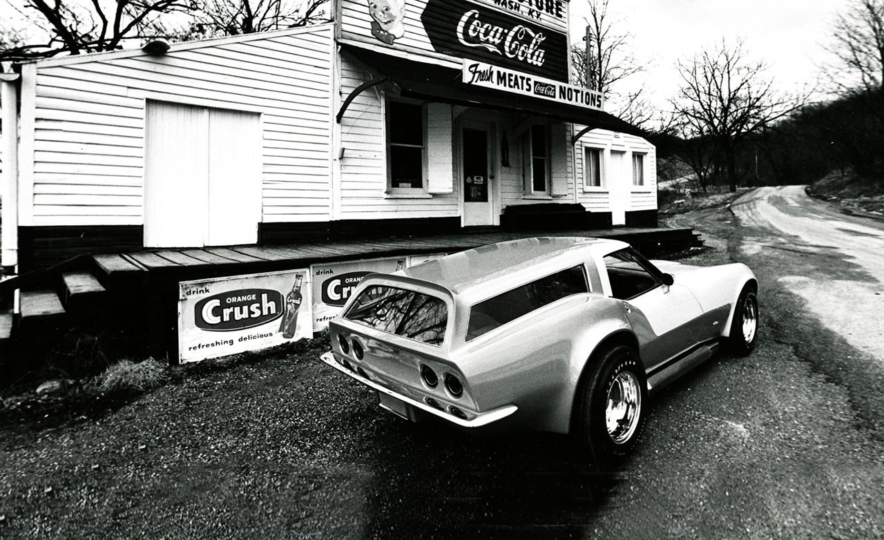 """La Chevrolet Corvette """"break De Chasse"""" Bientôt Disponible"""