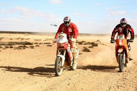 Africa Eco Race étape 5: Agadir/ Greid Lareich.