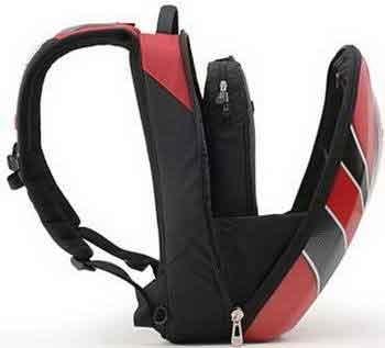 Axio : sac à dos spécial moto, Hardpacks