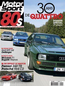 Motorsport 80's : le nouveau magazine des jeunes vieilles (et inversement)