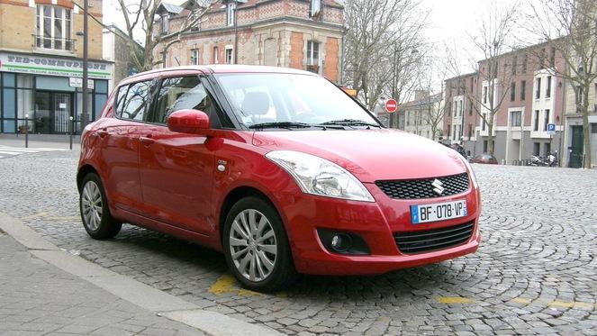 Essai - Suzuki Swift 1.3 DDiS : une petite diesel bien sous tous RAPPORTS