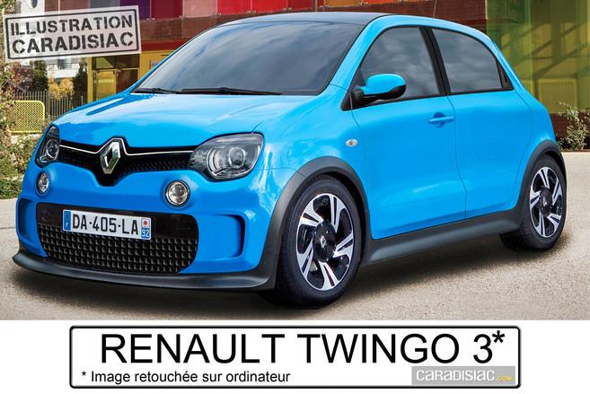 La Twingo 3 arrive l'an prochain