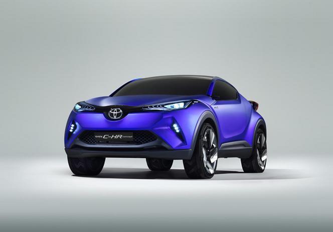 Mondial de Paris 2014 - Le concept Toyota C-HR en avance