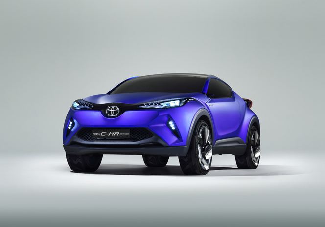 Salon de Paris 2014 - Toyota C-HR: musclé