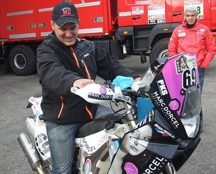 Dakar 2012 : Interview Hugo Payen, « M'approcher du top 30, ce ne serait pas mal »