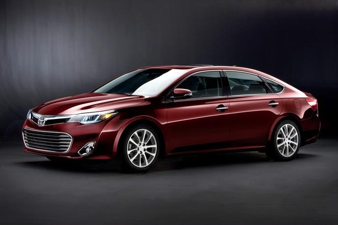 New York 2012 : nouvelle Toyota Avalon, consensuelle