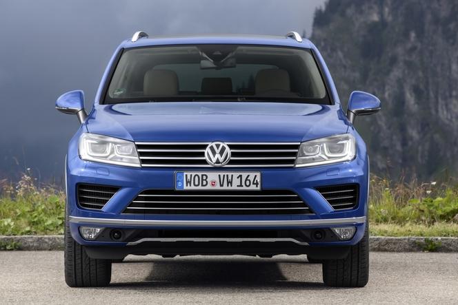 Volkswagen : le Touareg restylé pour l'Europe