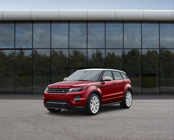 Mondial de Paris 2014 - Range Rover Evoque SW1: fier d'être anglais
