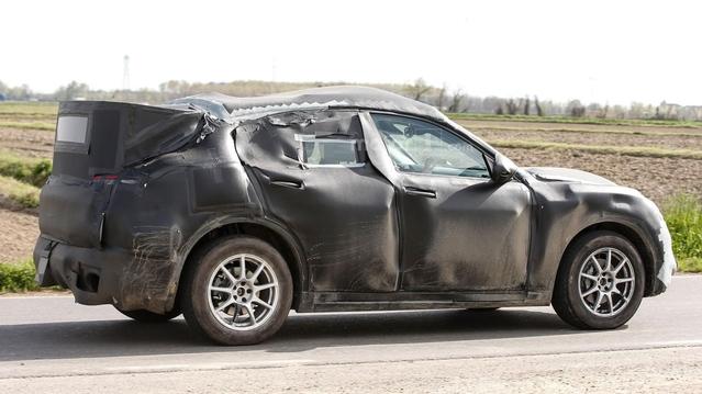 Alfa Romeo : le Stelvio se prépare