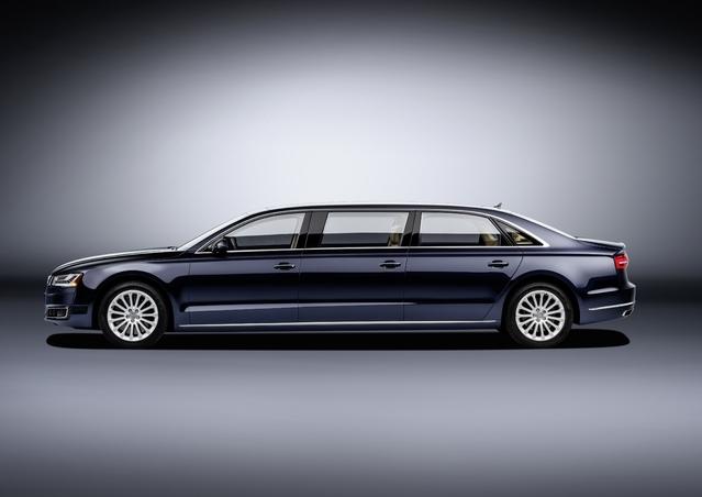 """Audi dévoile l'A8 à rallonge """"L extended"""""""