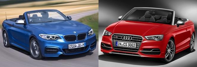 Match du Mondial : BMW M235i cabriolet ou Audi S3 cabriolet ?