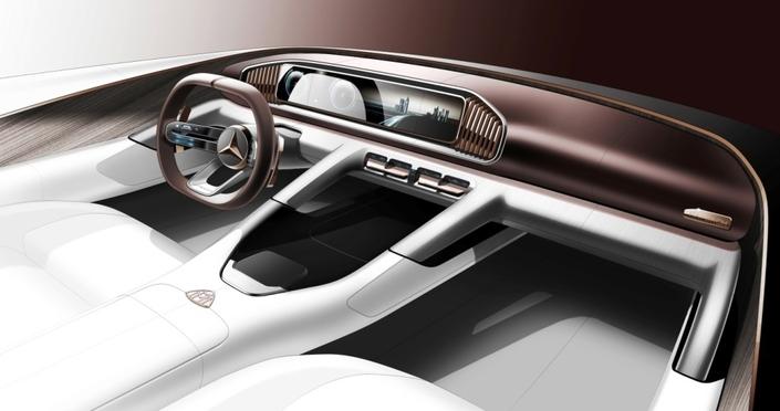 Salon de Pékin 2018 - Mercedes: la Classe A berline et un concept Maybach en approche
