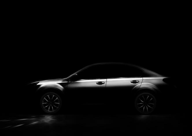 Salon de Pékin - Subaru en séance de teasing...