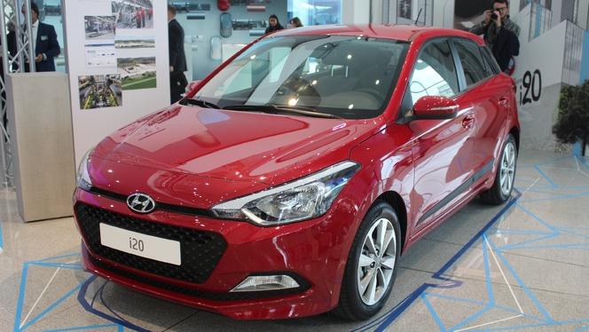 Salon de Paris 2014 - Hyundai i20, l'outsider