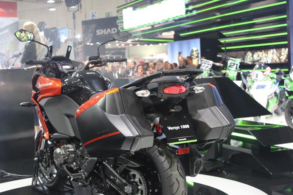Intermot en direct – Kawasaki : en 1 000 la Versys va vers ça