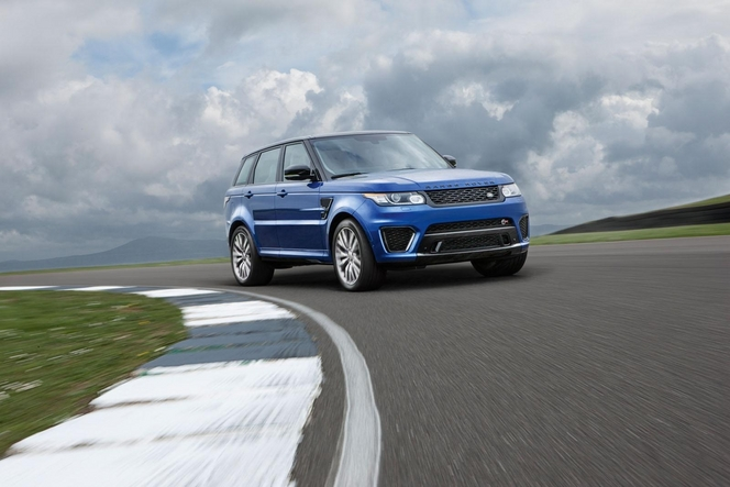 Salon de Paris 2014 - Land Rover Range Rover Sport SVR, baroudeur du Nürburgring