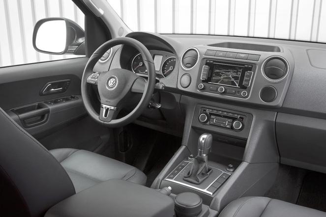 Essai - Volkswagen Amarok boîte auto 8 rapports et Crafter 4Motion Achleitner