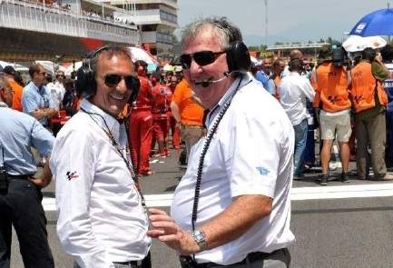 Franco Uncini Officiel de Sécurité FIM en Grand Prix