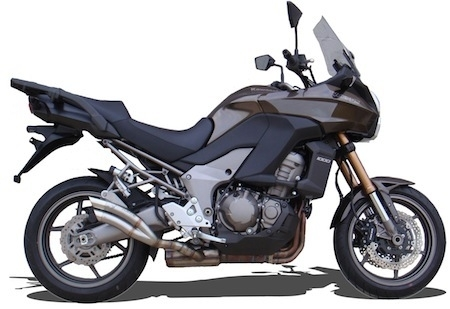 Ixrace: silencieux Z1 pour Kawasaki Versys 1000