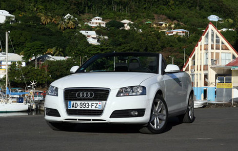 essai vid o audi a3 cabriolet tdi 105 ch conome. Black Bedroom Furniture Sets. Home Design Ideas