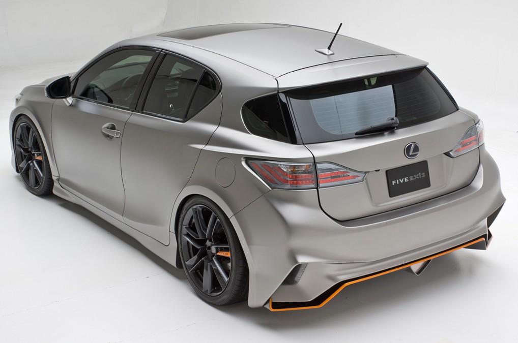 2013 five axis lexus ct 200h pioneer cars wallpapers